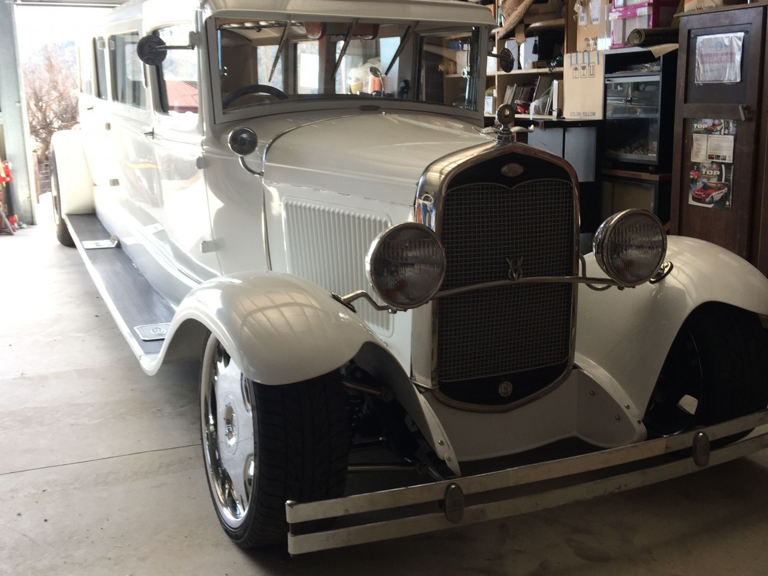 1931 Ford coupe limo