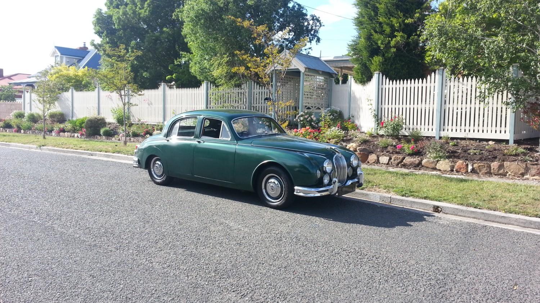 1957 Jaguar 2.4 litre saloon (Mark 1)