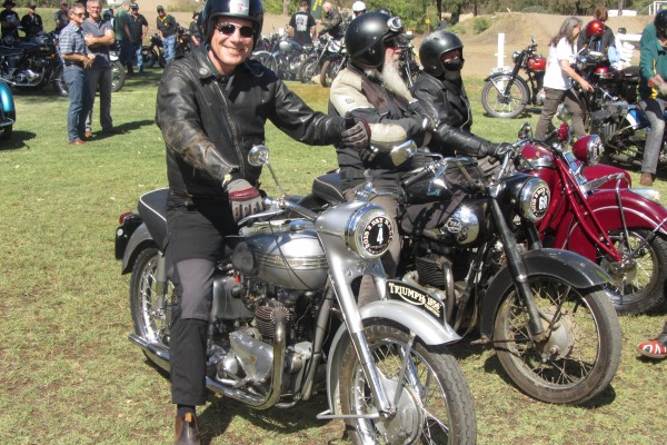 1956 Triumph Thunderbird Motor Memories Competition Shannons Club