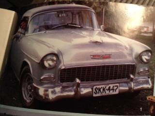1955 Chevrolet 210 Australian delivery sedan made into hot rod ute
