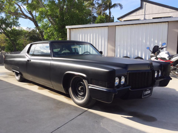 1970 Cadillac Coupe Deville 350stato Shannons Club