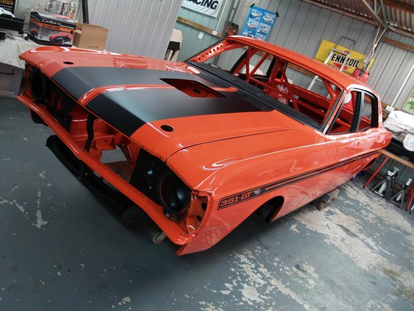 1971 Ford XY GTHO Replica Gp Nc Race Car