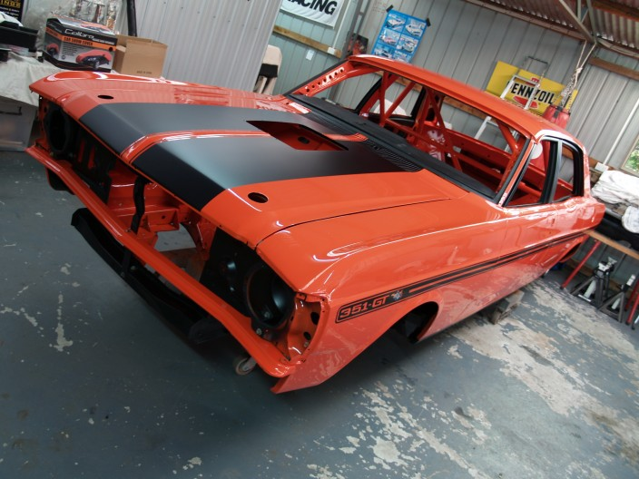 1971 Ford XY GTHO Replica Gp Nc Race Car