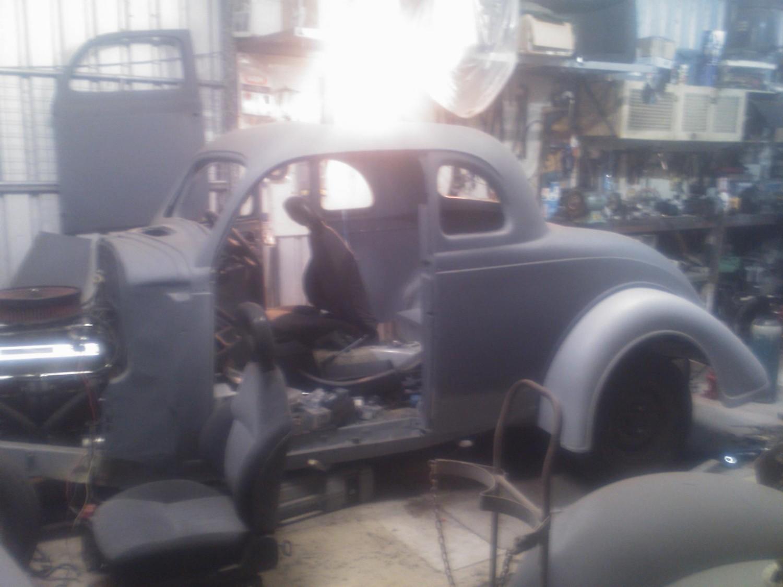 1936 Plymouth 5 Window