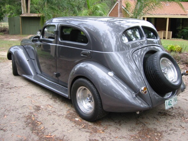 1934 Hupmobile J Model Aerodynamic 8