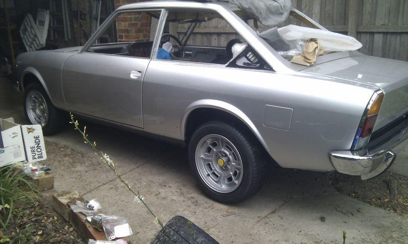 1975 Fiat 124 Sport