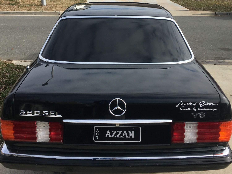 1982 Mercedes-Benz 380 SEL