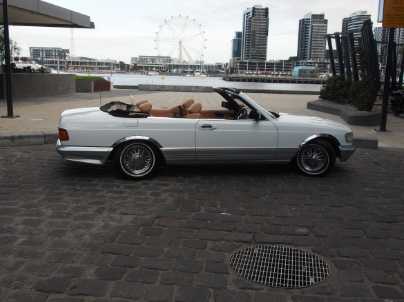 1982 mercedes benz 500 sec sgs cabriolet profbob shannons club. Black Bedroom Furniture Sets. Home Design Ideas