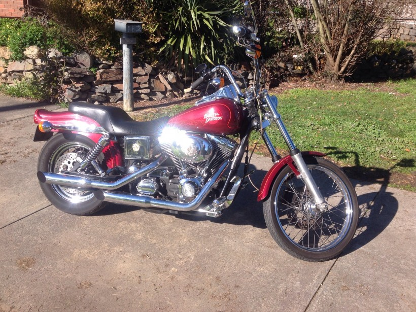 2001 Harley-Davidson Wide gulide