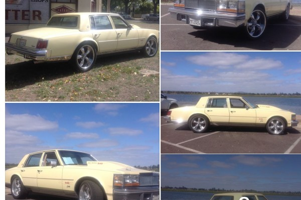 1978 Cadillac Seville Show Shine Shannons Club