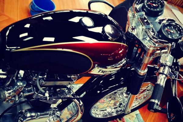 1973 Triumph T140 Bonneville Show Shine Shannons Club