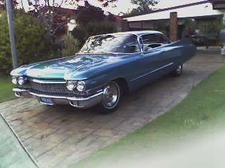 1960 Cadillac 62 series