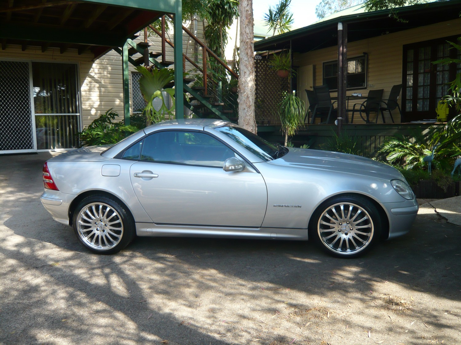 2002 Mercedes Benz Slk 230 Kompressor Garfield Shannons Club