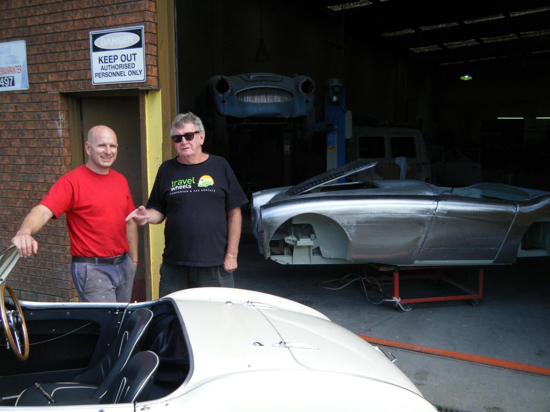 1956 Austin Healey 100 Bn2 Le Mans Specs Johnwayne