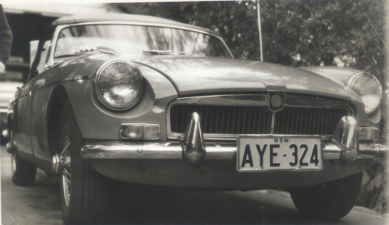 """1970 MG MG""""B"""""""