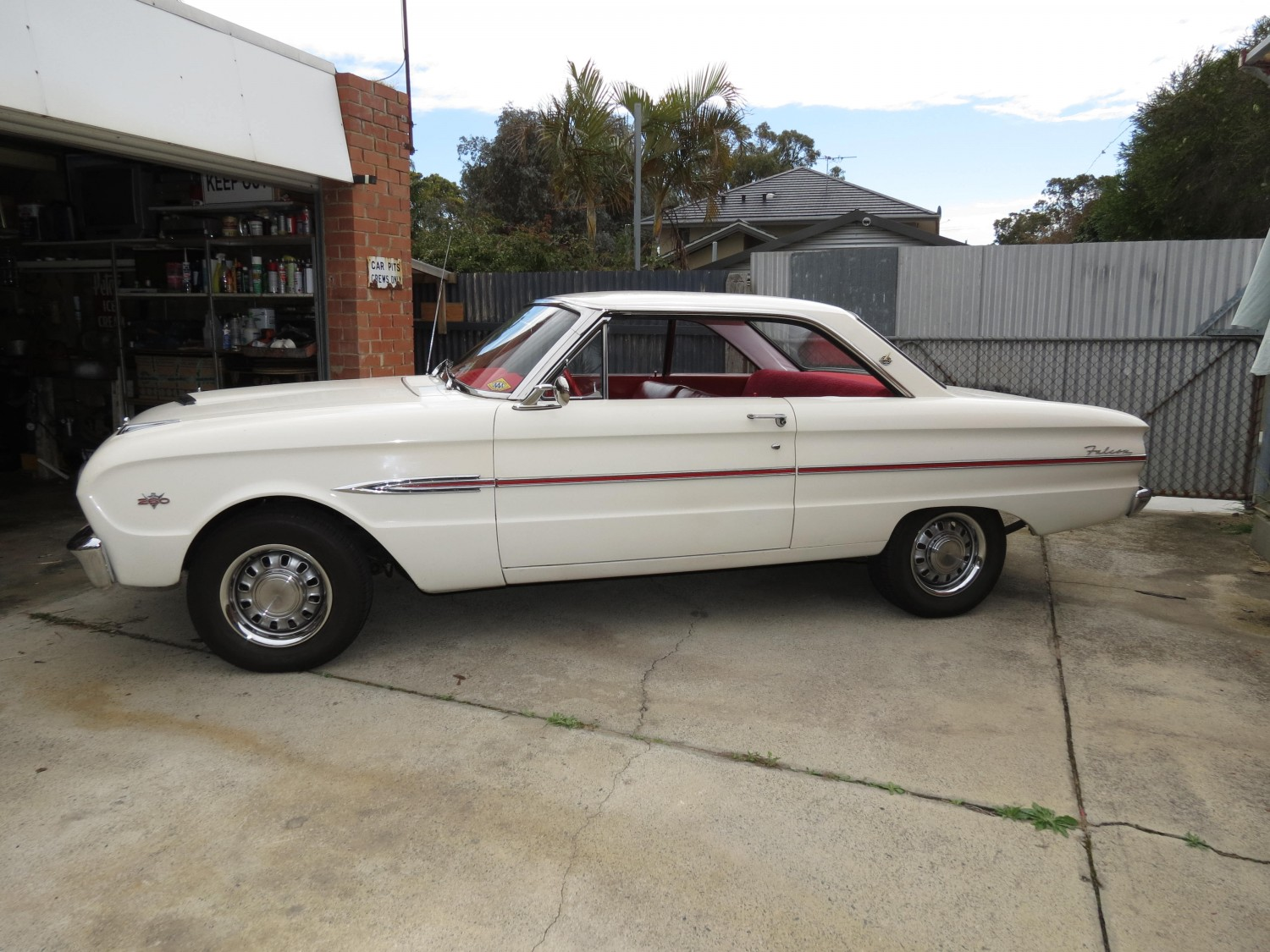 1963 ford falcon futura sports coupe