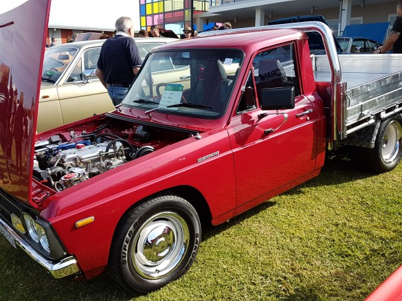 mazda b1600 engine swap