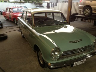 1962 Ford Consul Cortina