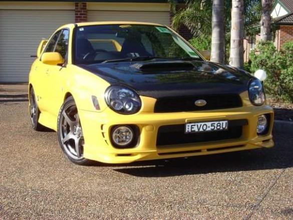 Subaru Impreza Car Aps