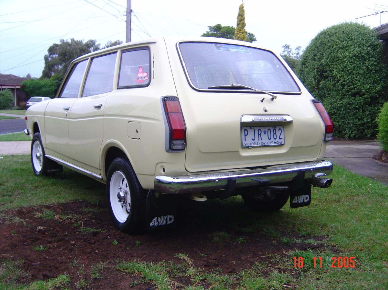 1976 Subaru 4 x 4 wagon
