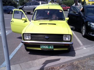 1980 Ford ESCORT MKII PANEL VAN GL - AMELIA / FROG VAN