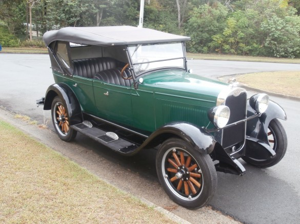 1928 Chevrolet National AB Tourer - Fiat500 - Shannons Club
