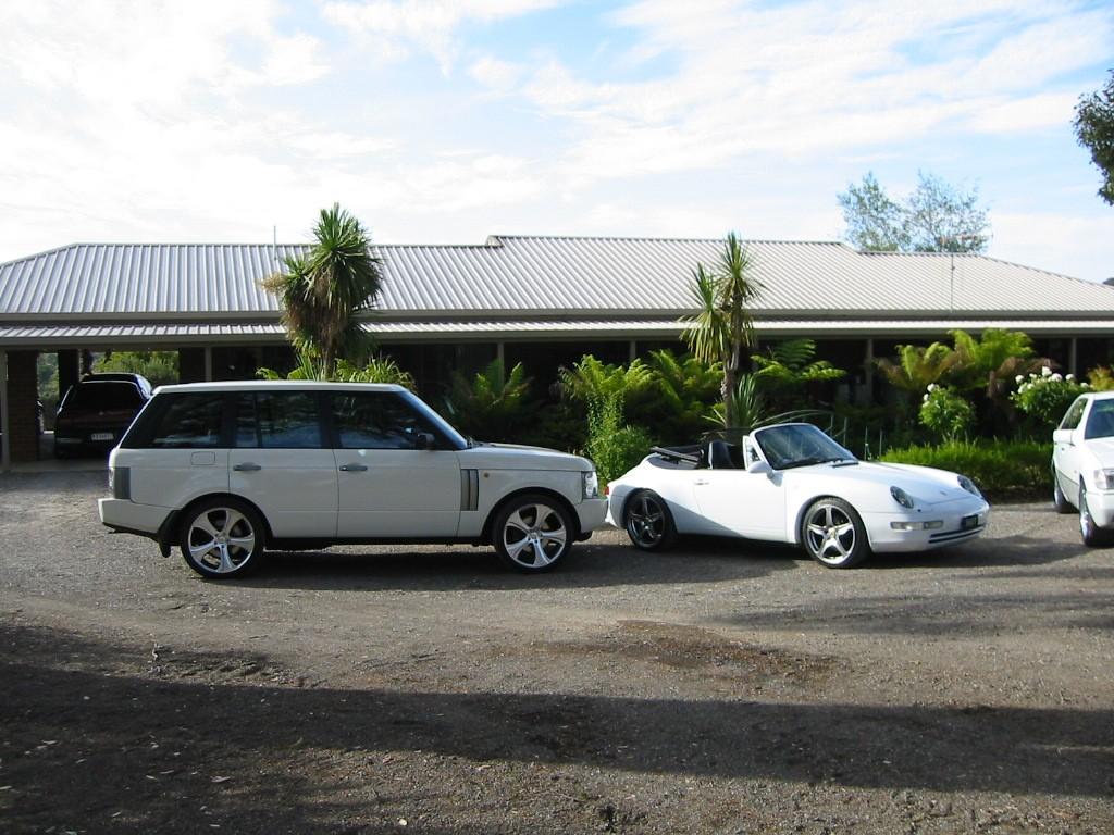 2003 Range Rover RANGE ROVER HSE