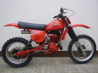 1978 Honda CR250R Red Devil