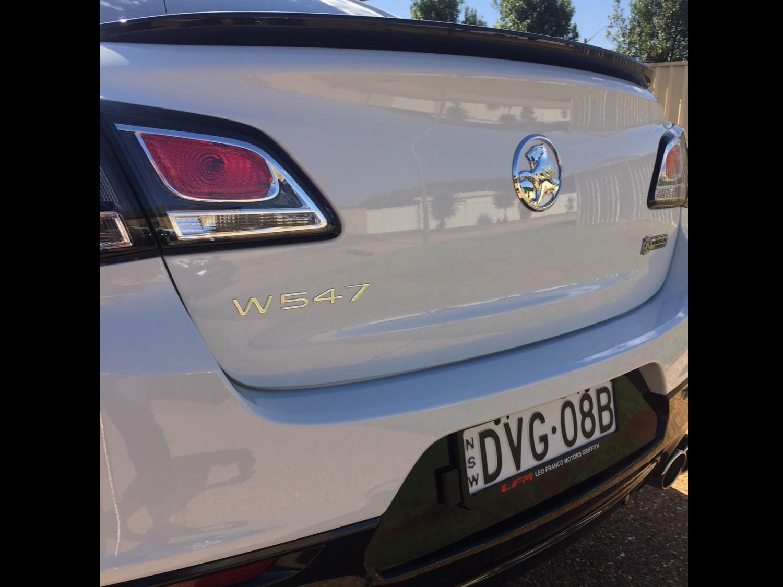 2017 Holden Walkinshaw W547 SS-V Redline - castle10
