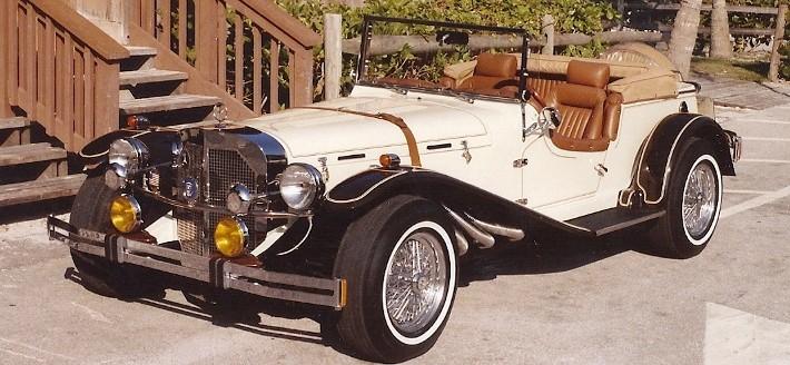 1987 CMC Gazelle - 1929 Mercedes SSK Replica