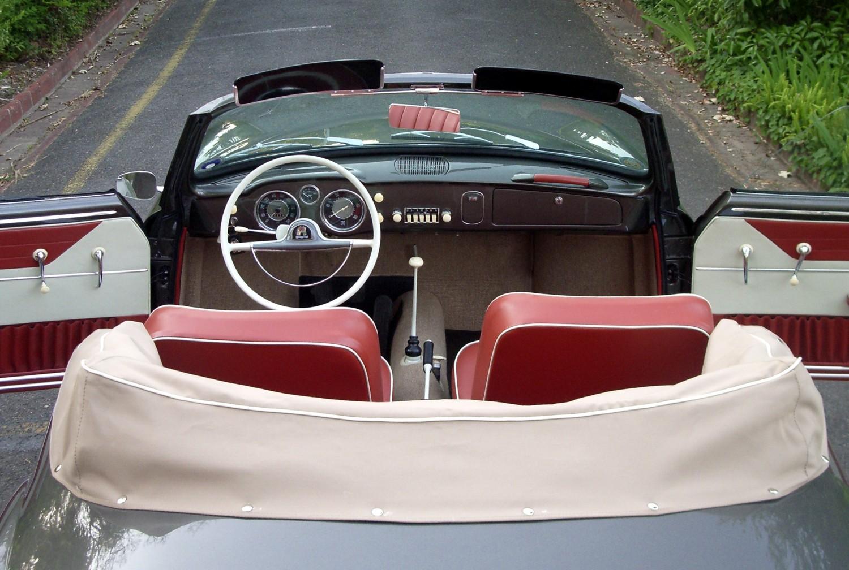 1958 Karmann Ghia 141 Cabriolet