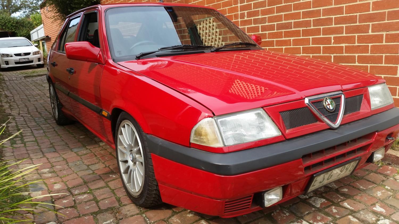 1992 Alfa Romeo 33 S 16v P4 Mooks Shannons Club