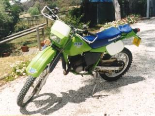 1988 Kawasaki KDX 200
