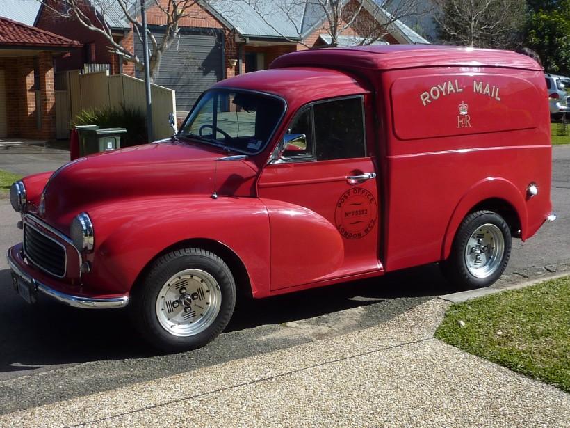 1962 Morris Panel Van