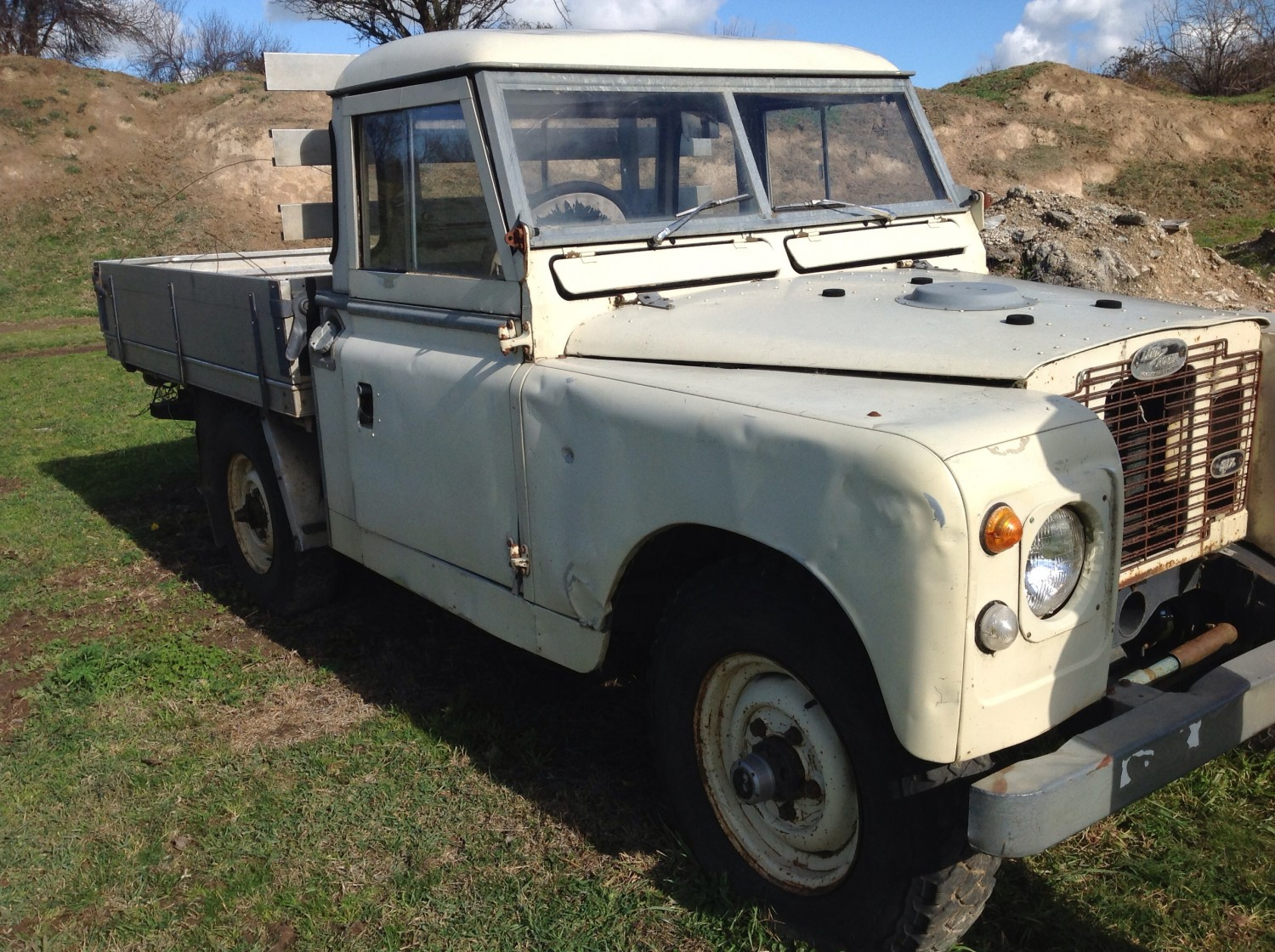 1970 Land Rover Series 2a - Johnnypigeon