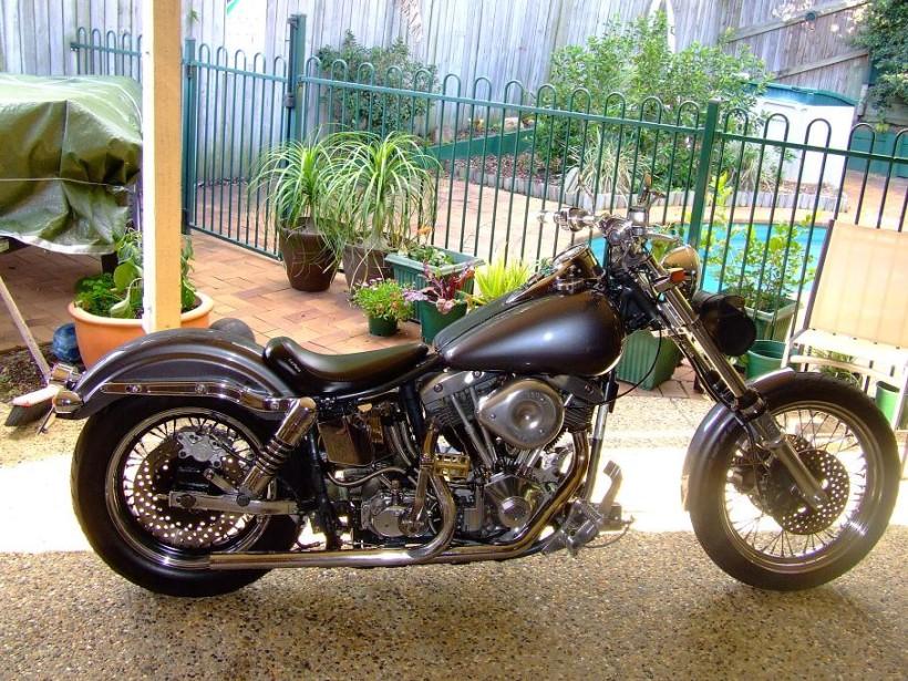 1977 Harley-Davidson FX1200 Shovelhead