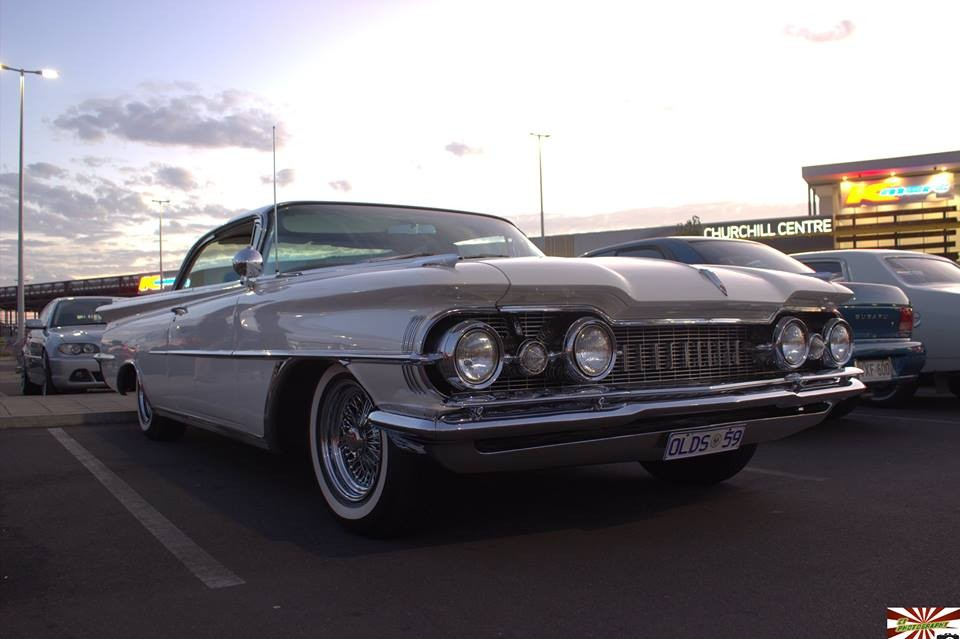 1959 Oldsmobile Ninety Eight Holiday Scenicoupe