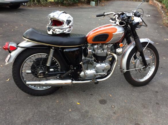 1969 Triumph Bonneville T120 R Zack1956 Shannons Club