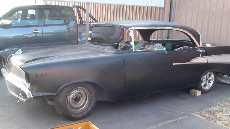 1957 Chevrolet Bel Air 4 Door Hard Top Show Shine Shannons Club Chevy