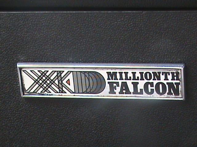 1980 Ford Falcon Millionth Falcon