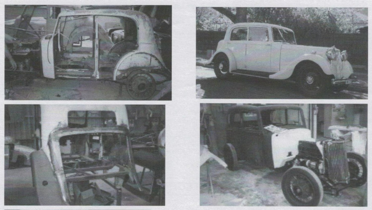 1937 Armstrong Siddeley 17HP Four-Light Saloon
