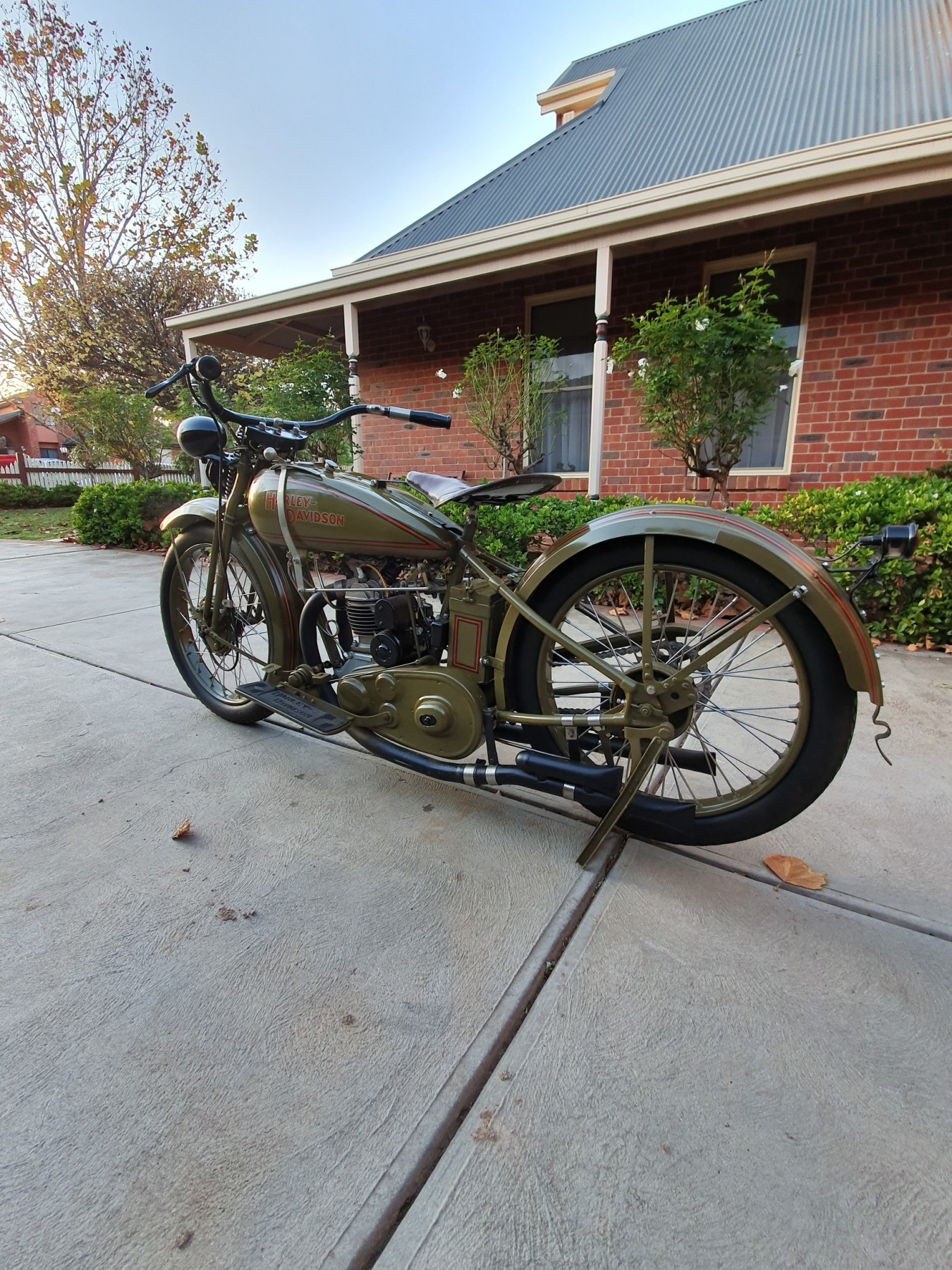 1929 Harley-Davidson BA PEASHOOTER