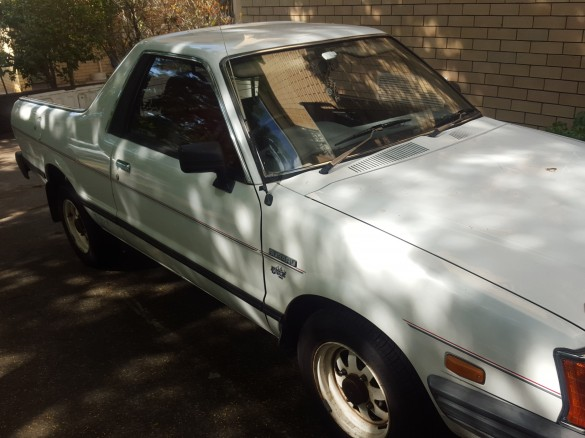 Subaru brumby for sale australia