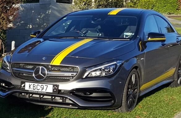 2017 Mercedes-Benz CLA45 AMG - hbroaster - Shannons Club