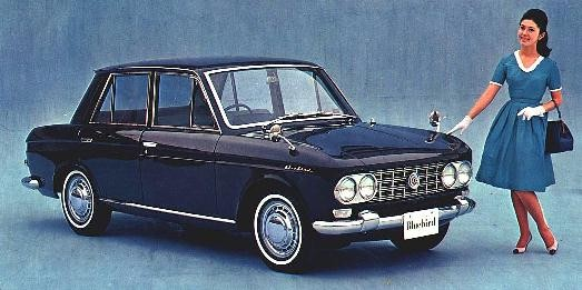 File:1964 Datsun NL320 pickup front & side.jpg - Wikimedia Commons