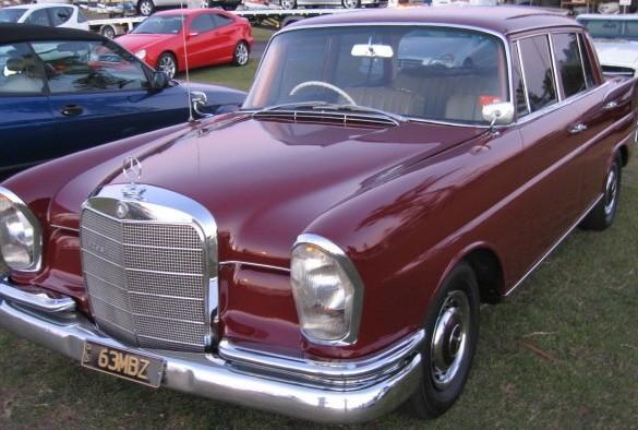1963 Mercedes Benz Sedan 220sb W111 Flyboy Shannons Club