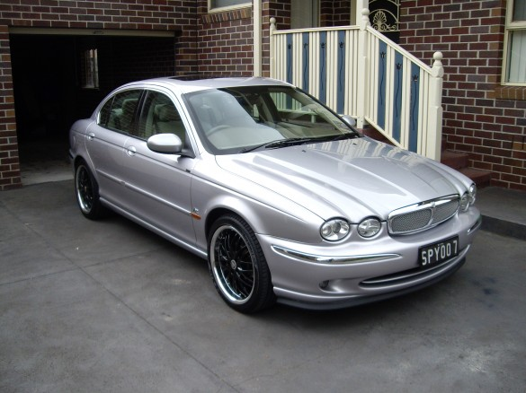2001 Jaguar X Type R