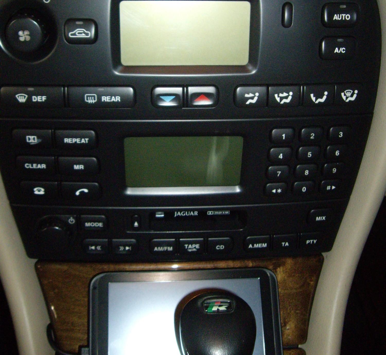 2001 Jaguar S Type Interior: 2001 Jaguar X Type R