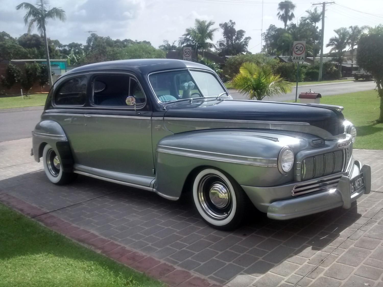 1946 Mercury 2 Door Town Sedan