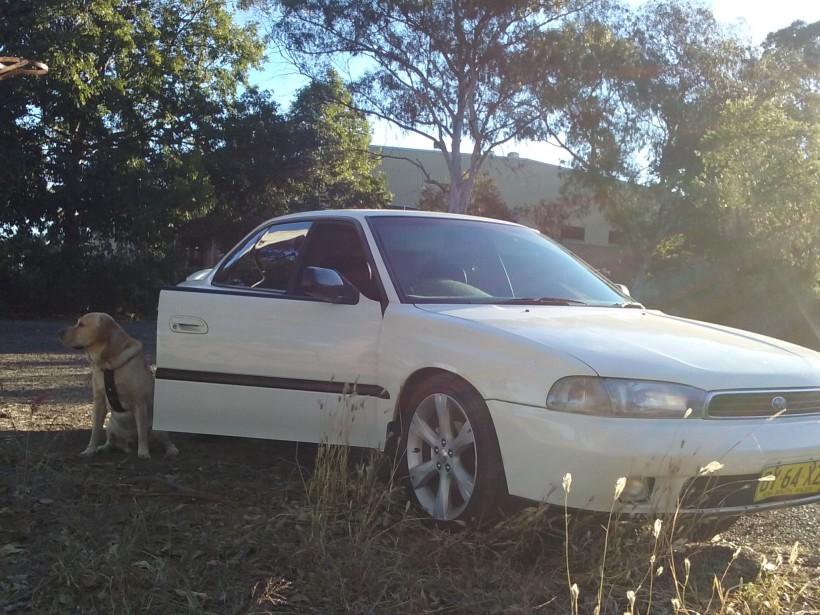 1995 Subaru GX liberty